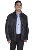 LAMBSKIN ZIP JACKET BY SCULLY