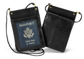 "Leather Passport Holder, 4-1/4"" x 6"""