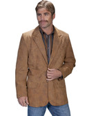 MAPLE LEATHER BLAZER BY SCULLY