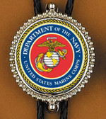 Marines (department of the Navy) Bolo Tie