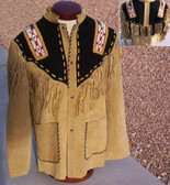 Native Dancer Suede Prayer Shirt/Jacket