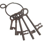 Old West Fashion Jailers Keys