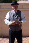 OLD WEST GAMBLER Dealer or Bartender Saloon An Old West Complete COWBOY Outfit