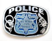 Police Belt Buckle