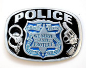 Police Belt Buckle 53570