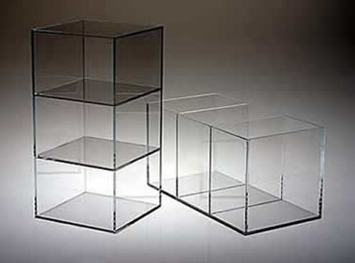 Acrylic Box with Two Dividers (8714)