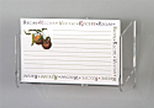 Recipe Card Holder Wall Mount #7961