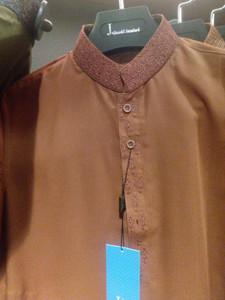 Junaid Jumshed boys shalwar kameez age 12 rust
