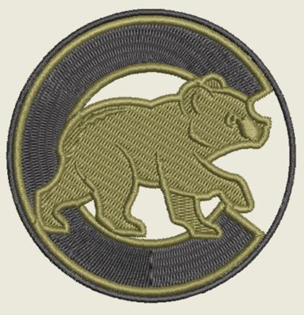 Chicago Cubs Sub OD patch
