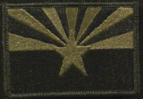 arizona state flag in OD