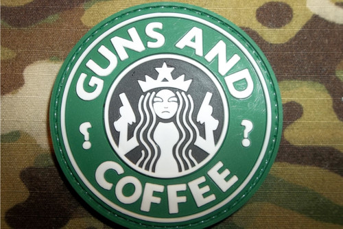 PVC - Guns and Coffee (full color)