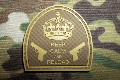 PVC - Keep Calm and Reload (mc Colors)
