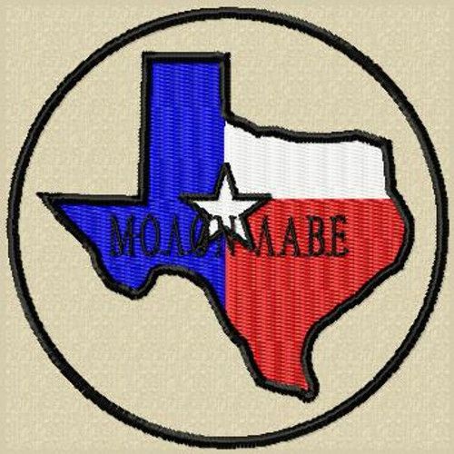 Molon Labe Patch Texas Full Color Tans