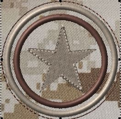 capt america's shield VELCRO® Brand patch