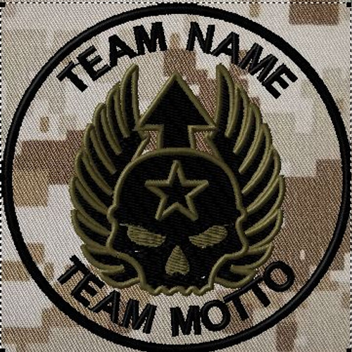 custom team template battlefield skull dcu
