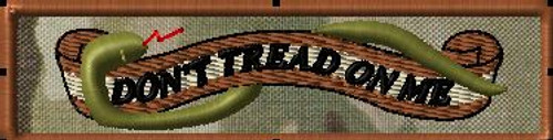 dont tread on me 2 morale patch