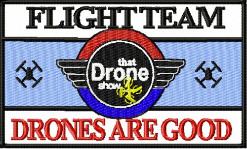 Drone Flight team Patch
