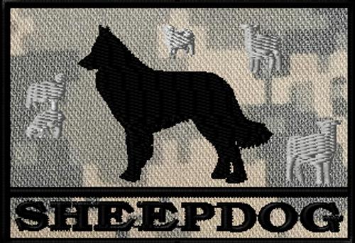 Sheepdog Patch 2.5 x 3.5
