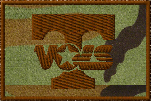 Tennessee Vols Tactical sports patch