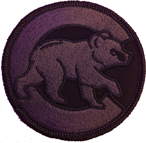 Chicago Cubs Blackout Edition Tactical Sports Patch