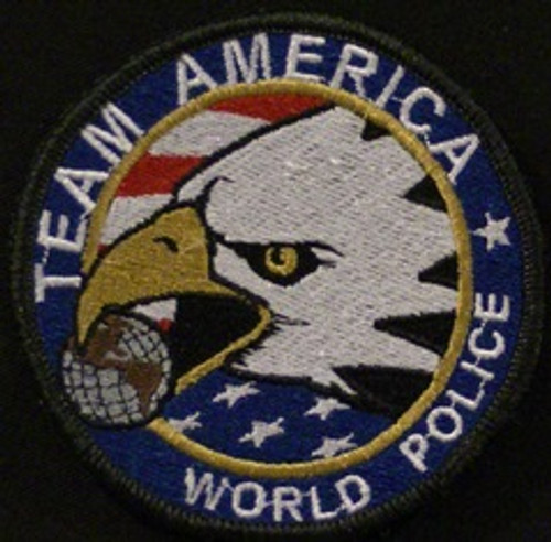 team america world police  morale patch