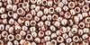 8/0 Toho Permanent Finish Galvanized Pink Blush Seed Beads 2939