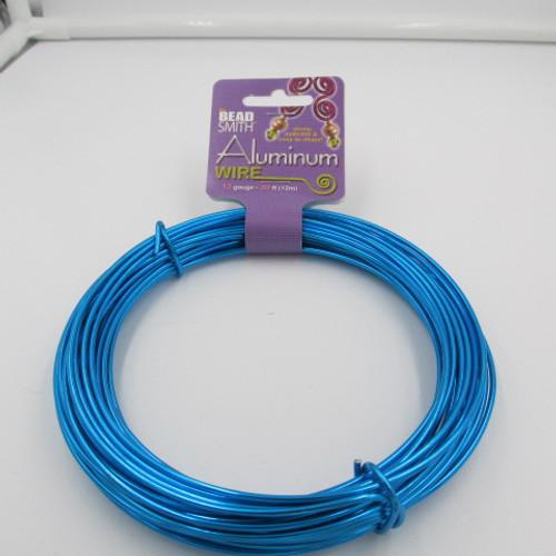Turquoise 12 Gauge Aluminum Wire