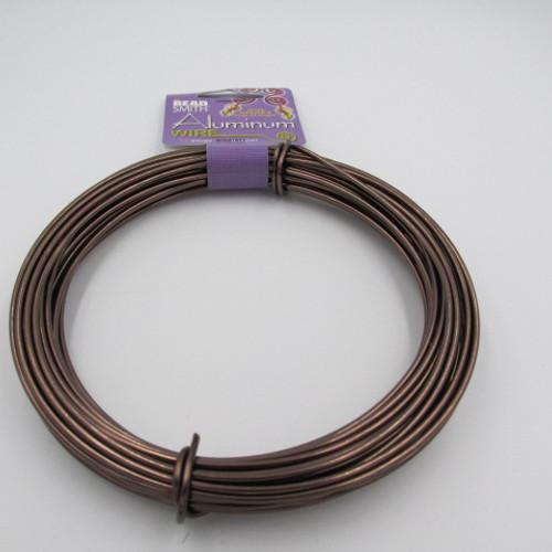 Brown 12 Gauge Aluminum Wire