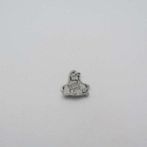 Chef Hat Pewter Charm 7717