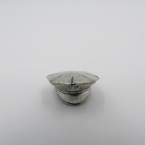 Police Hat Pewter Charm 2006