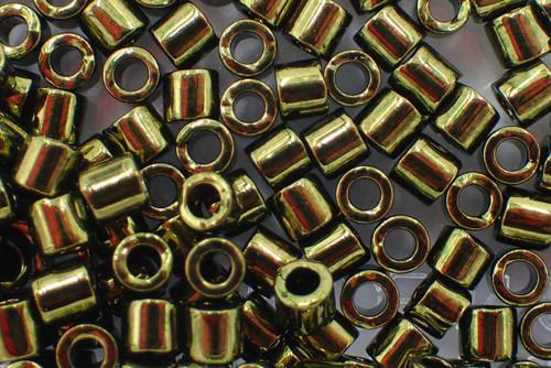 8/0 Metallic Olive Delica dbl-0011-tb