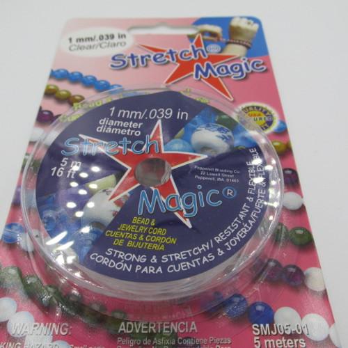 1mm Clear Stretch Magic (16 Feet)