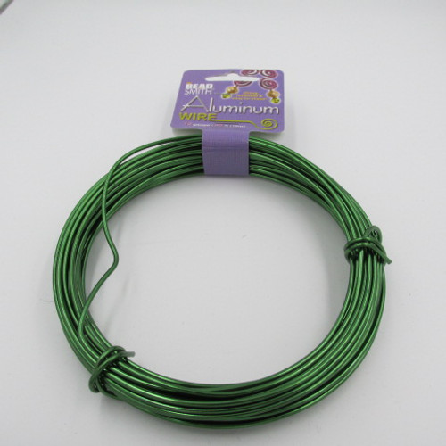 Kelly Green 12 Gauge Aluminum Wire