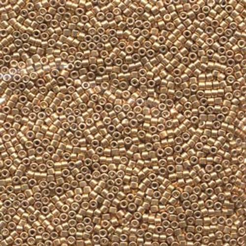 Galvanized Yellow Gold 11/0 Delica Beads db410