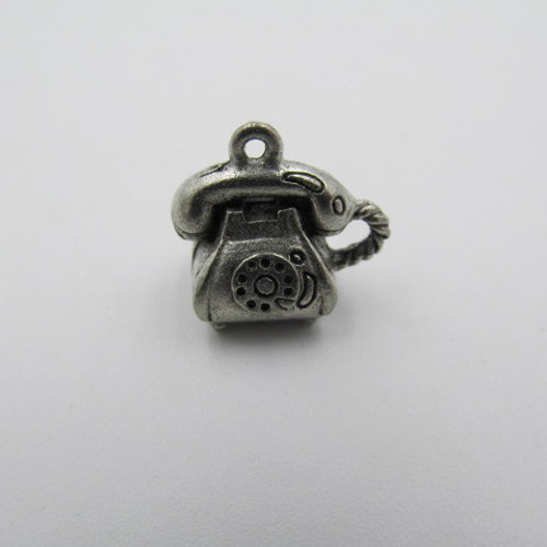 Telephone Pewter Charm 5153