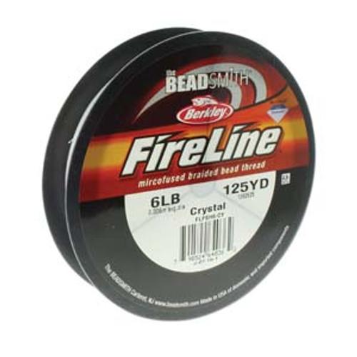 6lb 125yd crystal fireline