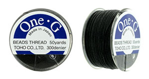 Black One G Thread 50yd spool 1265