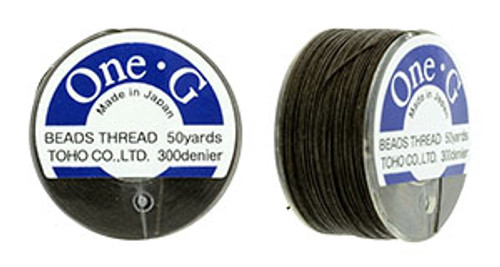 Brown One G thread 50yd Spool 2554
