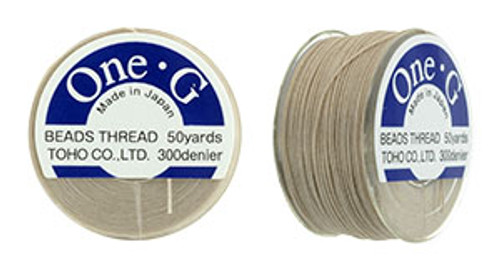 Beige One G thread 50yd spool 1269