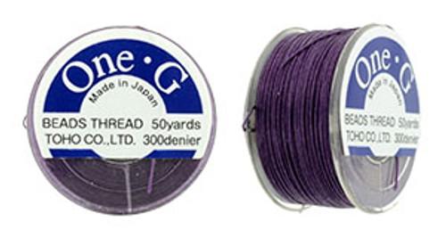 Purple One G Thread 50yd Spool