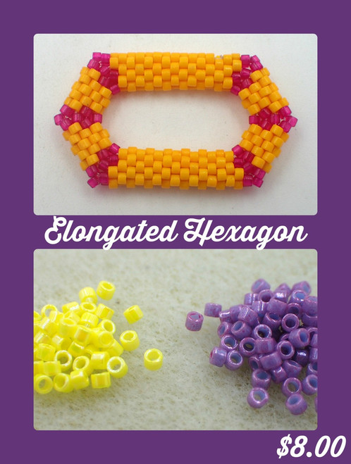 Purple Elongated Hexagon Kit