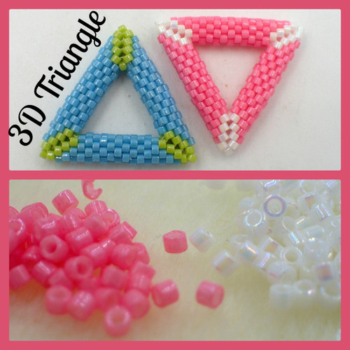 Pink 3D Triangle Kit