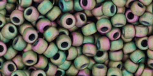 8/0 Toho Matte Cassiopeia Seed Beads