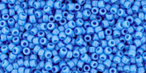 15/0 Opaque Cornflower Seed Beads