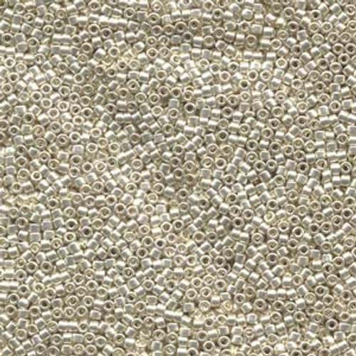 Galvanized Silver 11/0 Delica Beads db035