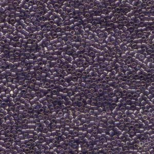 Lavender Blue Gold Luster 11/0 Delica Beads db117
