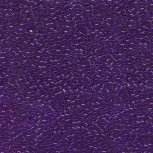 Dyed Transparent Violet 11/0 Delica Beads db1315