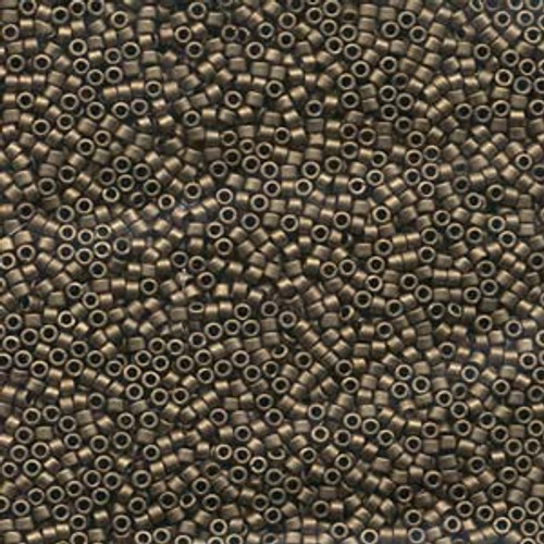 Matte Metallic Gold 11/0 Delica Beads db322