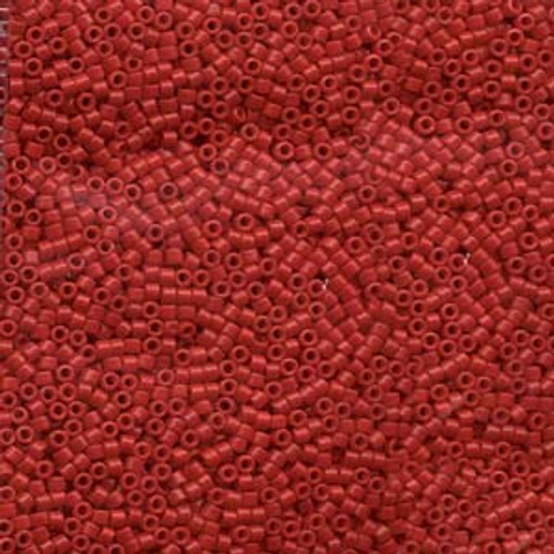 Opaque Red 11/0 Delica Beads db791