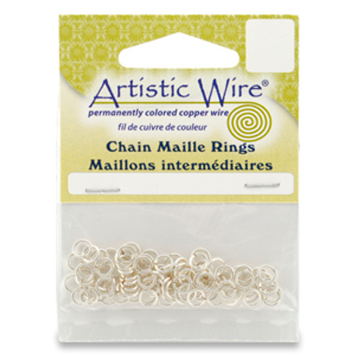 9/64 18ga Artistic Wire Jump Rings 70pk